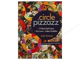 Books & Patterns C&T Publishing Books: C&T Publishing Circle Pizzazz Book by Judy Sisneros