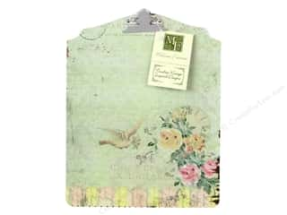 Melissa Frances Decor Clipboard Bird &Clock Design