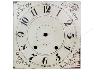 Clock Making Supplies Scrapbooking: Melissa Frances Decor Clock Face Wall Hanging Square 10""