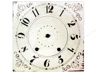 Clock Making Supplies Scrapbooking: Melissa Frances Decor Clock Face Wall Hanging Square 12""