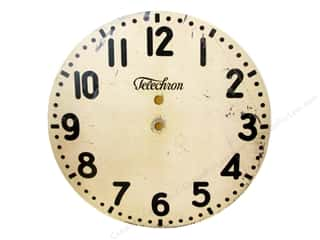 Melissa Frances Decor Clock Face WallHang Mod 14""