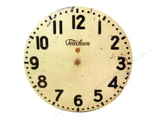 Melissa Frances Decor Clock Face WallHang Mod 8""