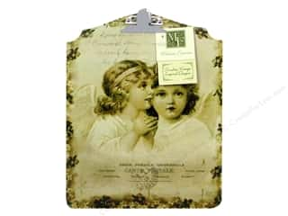 Craft & Hobbies Angels/Cherubs/Fairies: Melissa Frances Decor Clipboard Angels