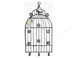 Hardware Clearance Crafts: Melissa Frances Decor Clip Hanger Memo Birdcage Medium Antique