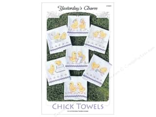 Yesterday's Charm $7 - $15: Yesterday's Charm Chick Towels Pattern