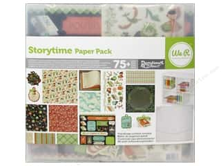 Weekly Specials We R Memory Washi Tape: We R Memory Paper Pack Storytime