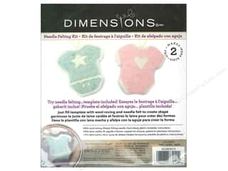 Dimensions Yarn Kits: Dimensions Needle Felting Kits Cutouts Baby