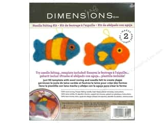Dimensions Dimensions Applique Kit: Dimensions Needle Felting Kits Cutouts Fish