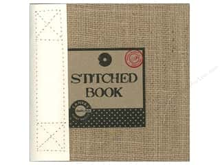 Canvas Corp Scrapbook 6x6 Burlap