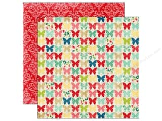 Echo Park 12 x 12 in. Paper Beautiful Life Butterflies (25 piece)
