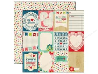 Echo Park 12 x 12 in. Paper Beautiful Journaling Cards (25 piece)