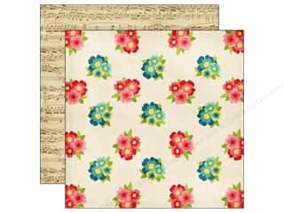 Echo Park 12 x 12 in. Paper Beautiful Life Bouquets (25 piece)