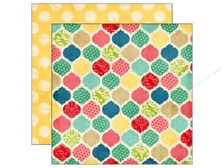 Echo Park 12 x 12 in. Paper Beautiful Life Quatrefoil (25 piece)