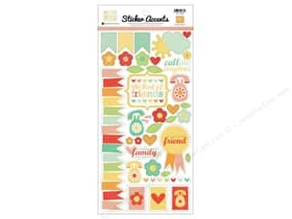 2013 Crafties - Best Adhesive: Echo Park Sticker 6x12 Best Of Friends (15 set)
