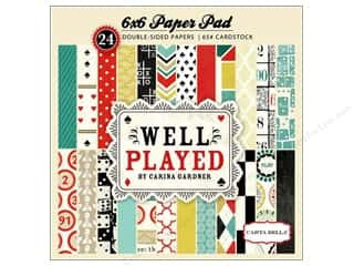 Carta Bella Paper Pad 6x6 Well Played