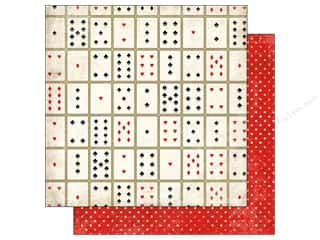 Carta Bella Paper 12x12 Card Games (25 piece)
