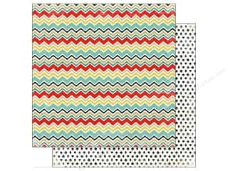 Carta Bella 12 x 12 in. Paper Chevron (25 piece)