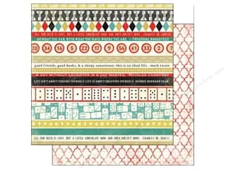 Carta Bella Paper 12x12 Well Played Border Strips (25 piece)