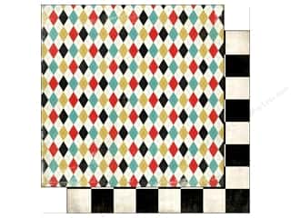 Carta Bella inches: Carta Bella 12 x 12 in. Paper Well Played Argyle (25 sheets)