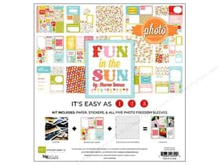 Clearance Echo Park Collection Kit: Echo Park Collection Kit 12 x 12 in. Fun In The Sun