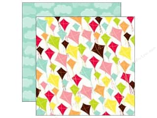 Echo Park 12 x 12 in. Paper Let's Picnic Kites (15 piece)