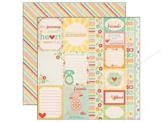 Echo Park 12 x 12 in. Paper Friends Journaling Cards (15 piece)