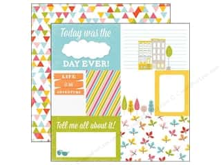 Paper Accents Summer Fun: Echo Park 12 x 12 in. Paper Fun In The Sun Collection Easy Breezy (15 pieces)