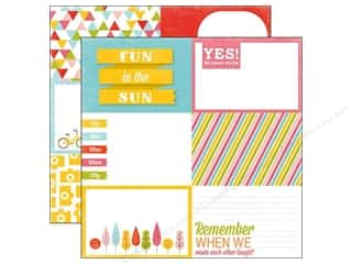 Paper Accents Summer Fun: Echo Park 12 x 12 in. Paper Fun In The Sun (15 pieces)