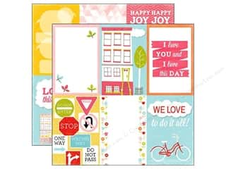Joy Flowers: Echo Park 12 x 12 in. Paper Fun In The Sun Collection Love Today (15 pieces)