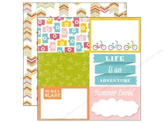 Summer Fun: Echo Park 12 x 12 in. Paper Fun In The Sun Collection Neighborhood (15 pieces)