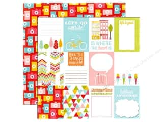 Summer Fun: Echo Park 12 x 12 in. Paper Fun In The Sun Collection Outside (15 pieces)
