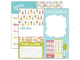 Summer Fun: Echo Park 12 x 12 in. Paper Fun In The Sun Collection Sidewalk (15 pieces)