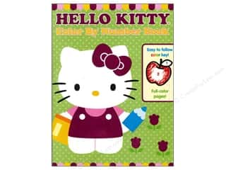 Color By Number Book Hello Kitty