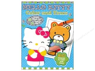Activity Books / Puzzle Books: Color & Trace Book Hello Kitty