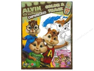 Clearance Books: Color & Trace Book Alvin and the Chipmunks