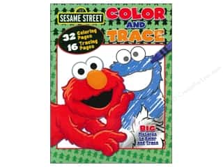 Color & Trace Book Sesame Street