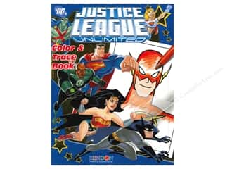 Color & Trace Book Justice League