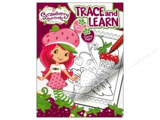 Bendon Color & Trace Book Strawberry Shortcake