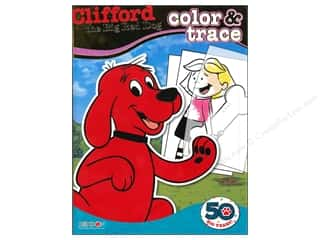 Color & Trace Book Clifford the Big Red Dog