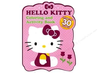 Activity Books / Puzzle Books: Coloring & Activity Sticker Book Hello Kitty