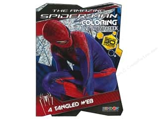 Books $3-$5 Clearance: Coloring & Activity Book with Stickers Spiderman 4