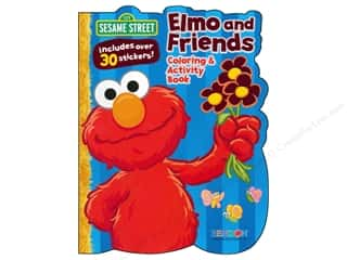 Coloring & Activity Book with Stickers Sesame Street