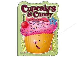 Food Books: Bendon Shaped Coloring & Activity Book with Stickers Cupcakes and Candies