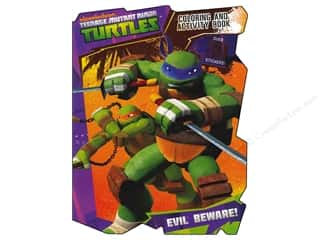 Coloring & Activity Book with Stickers Ninja Turtles