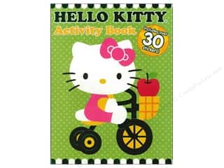Books Clearance $0-$5: Activity Book with Stickers Hello Kitty