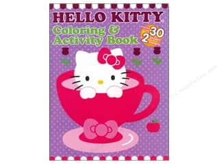 Books Clearance $0-$5: Coloring & Activity Book with Posters Hello Kitty