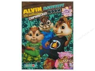 Books Clearance $0-$5: Activity Book with Posters Alvin and the Chipmunks 3