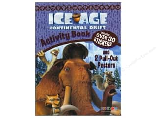 Books $3-$5 Clearance: Activity Book with Posters Ice Age 4