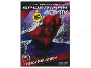 Books & Patterns Bendon Books: Bendon Activity Book with Stickers Spiderman 4