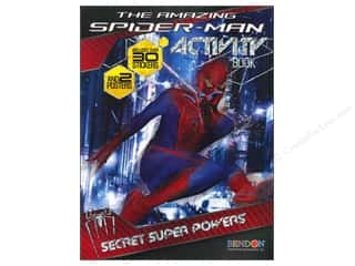 Books Clearance $0-$5: Activity Book with Posters Spiderman 4